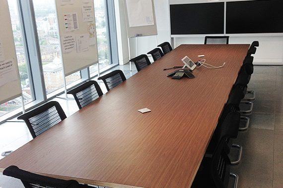 Bespoke office furniture - Brilliart Ltd. for Barclays