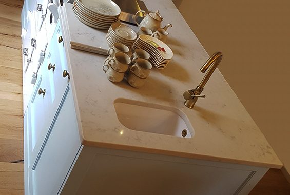 Deluxe bespoke kitchen - detail