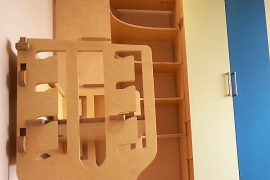 Kids room bespoke furniture