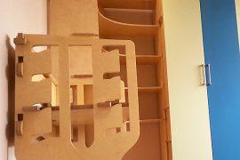 Kids room bespoke furniture